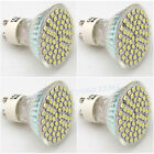 4X GU10 4W LED 60 LED 3528 SMD Light Bulbs High Power Lamp Energy Saving 220V