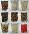 [US] New Choose Women's Synthetic Fibre Wigs Long Hair Curly  /Wavy ALL COLORS