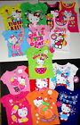 Hello Kitty Toddler Girls T- Shirt Size 2T or 3T or  4T or 5T NWT