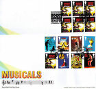 Stage Musicals Royal Mail Stamps FDE / FDC Rocky Horror 24.02.2011
