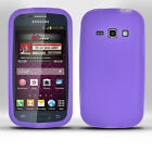 Samsung Galaxy Ring SPH-840 Phone Case SILICONE Skin + SCREEN PROTECTOR