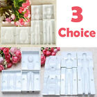 3D Man Woman Child People Cake Decorating Gum Paste Pastry Mold Fondant Cutter