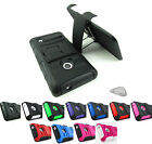 for Nokia Lumia 521 Armored Phone Case Cover & Clip Holster Accessory + Prytool