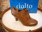Rialto OX Burnished Brown Lace-up Wingtip Oxford Pumps NEW