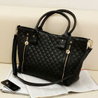 New Women Celebrity Handbag Shoulder Messenger Bag Tote Satchel Purse Black