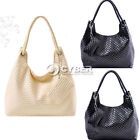 2012  Hot New Korean Lady PU Leather Handbag Purse Shoulder Bag Messenger