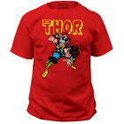 New The Avengers Mighty Thor God Of Thunder War Hammer T-shirt top Marvel Comics