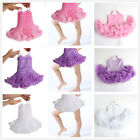 New baby Girls One-Piece Ruffle skirts Tutu Dress girls Outfits costume X M L