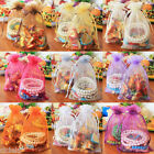 New 20/100X Organza Jewelry Packing Pouch Wedding Favor Large Gift Bags 13X18CM