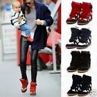 Women Shoes Fashion Casual Boots Height Increasing Sneakers 4 Colors NEW DZ88