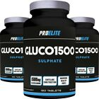 Glucosamine Sulphate 180 x 1500mg x 2 = 360 Tablets Joint Support Care ProElite