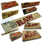 RAW Classic Rolling Papers - King Size Slim, Connoisseur, Rolls & Tips Multi Buy
