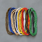 """Big Promotion! Good Quality HipHop Wooden Rosary Beads Chain Wood Necklace 35"""""""