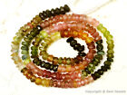 "Tourmaline 3-3.5mm Faceted Rondelle Gemstone Beads 13"" Strand - Pick-A-Lot"