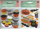 U CHOOSE  Jolee's HALLOWEEN CUPCAKES HALLOWEEN PARTY 3D Stickers