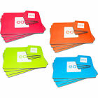 8 Piece Bright Rectangle Square Placemat Coaster Table Kitchen Drink Food Set