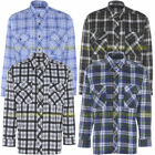 Lumberjack Check Warm Flannel Work Mens Casual Working Shirt Brushed Cotton NEW
