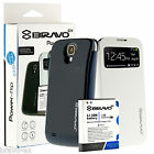 Bravo-EX 5200mAh Extended Battery+Flip Cover for Samsung Galaxy S4 I9500 I9505