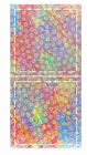 """Die Cut Fabric 12 pieces Large SQUARE quilt patch YOU CHOOSE COLOR 5"""" sew on"""