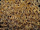 Gold Plated Jewellery Jump Rings Assorted Size Quantity 3mm 4mm 5mm 6mm 7mm Etc
