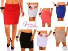 Ladies Sexy Jersey Stretchy  Mini Skirt S-XXL 24h Dispatch  238