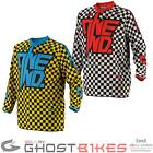 ONE INDUSTRIES 2014 YOUTH ATOM CHEX ENDURO MX JUNIOR KIDS SHIRT MOTOCROSS JERSEY