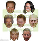 Royal Family Celebrity Face Mask Stag Do Hen Night Fancy Dress Party  Free Ship