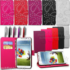 WALLET PU LEATHER FLIP CASE COVER POUCH FOR SAMSUNG GALAXY FREE SCREEN PROTECTOR