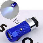 Stainless LED Car Cigarette Lighter Rechargable battery Flashlight Torch T5