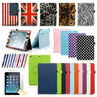 Folio Folding Slim PU Leather Stand Case Cover For New Apple iPad Air 5 5th Gen