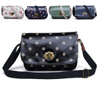 5 Color Women Girls Canva Floral Campus Shoulder Bag Crossbody Purse Bag Handbag
