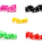 "1 Strand Polymer Clay Loose Beads Flower 21mmx20mm(7/8""x6/8"") M1161"