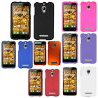 For T-Mobile Alcatel ONETOUCH Fierce Rubberized HARD Case Snap On Phone Cover