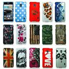 For LG Optimus F6 D500 Case Hard Snap On Design Protector Cover