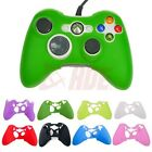 2x Silicone Gel Controller Rubber Protective Cover Case Skin Microsoft Xbox 360