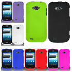 For Straight Talk ZTE Savvy Z750C Rubberized HARD Case Matte Snap On Phone Cover