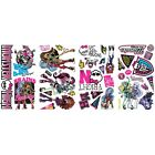 MONSTER HIGH 37 BiG Wall Decals Kids Dolls Room Decor Stickers FRANKIE CLAWDEEN