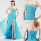 IN STOCK New Womens Evening Gowns Bridesmaids Formal Prom Dress Party Ball Gown