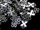 12mm Tibetan Silver Leaf Style Connectors Bead Findings PICK QUANTITY - ML