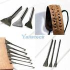 6 Sized Leather Straight Punch Slot Punches Hole Leathercraft Chisels Hand Tools