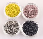 1000pcs Tube Czech Acrylic Spacer Beads For Jewelry Making  8x2mm U Pick color