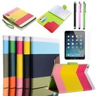 For Apple iPad Air 5 Smart Cover Magnetic PU Leather Wallet Stand Case