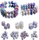 Howlite Turquoise Lampwork Spacer Beads European Charms DIY Bracelet Necklace X