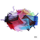 3 Size Nice Pure Favour Organza Wedding Jewelry Xmas Party Gift Bag Pouches