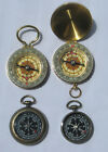 WORKING COMPASS FOCAL OR 4 COMPASS CHARMS STEAMPUNK ART JEWELRY CHOOSE