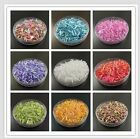 90019 2MM 4MM 6MM New DIY Glass Bugle Seed Beads Jewelry Findings Hot Sale