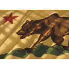 'Flag of California' Photography Canvas Print