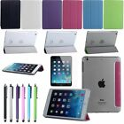 New Ultra Slim Magnetic Case Leather Clear Back Stand Cover For iPad mini Retina