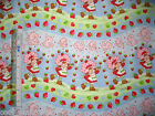 Strawberry Shortcake Girl Baby design cotton quilting fabric *Choose favourite!