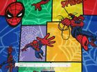 Spiderman cotton quilting fabric *Choose design & size